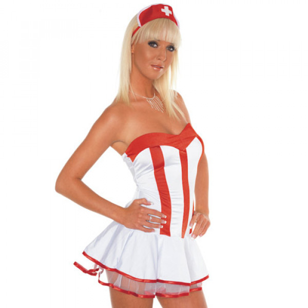 Nurse Outfit 3pcs - For The Closet