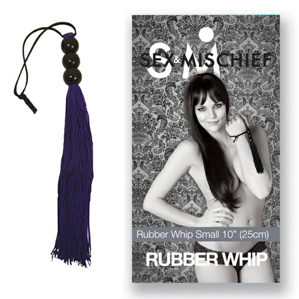 Medium Rubber Whip - For The Closet