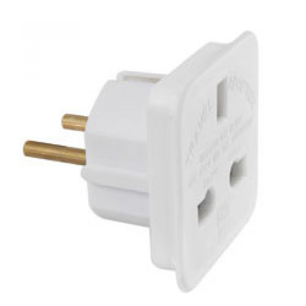 UK to EU Plug Adaptor - For The Closet