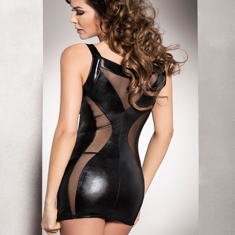 Passion Donata Chemise Black - For The Closet