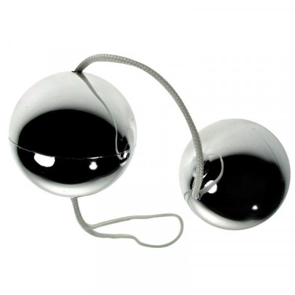 Vibratone Silver Duo Balls