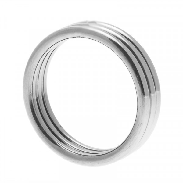 Echo Stainless Steel Triple Cock Ring ML