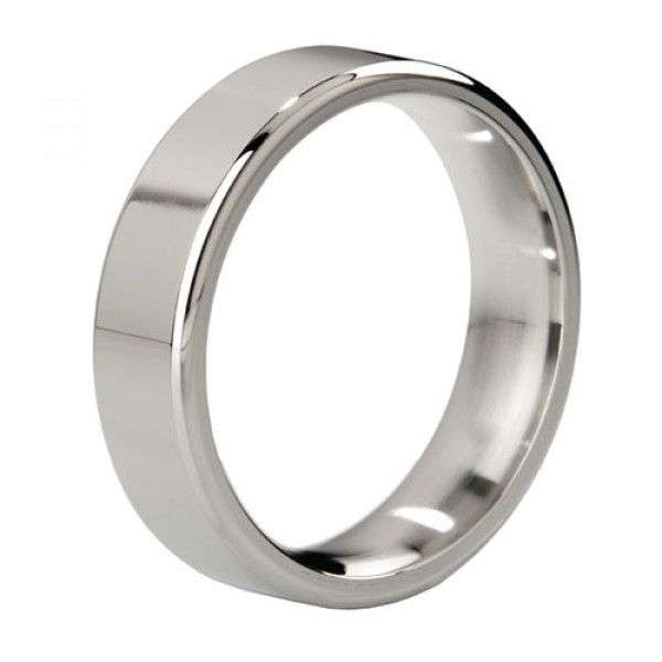 MyStim Duke Stainless Steel Polished Cock Ring