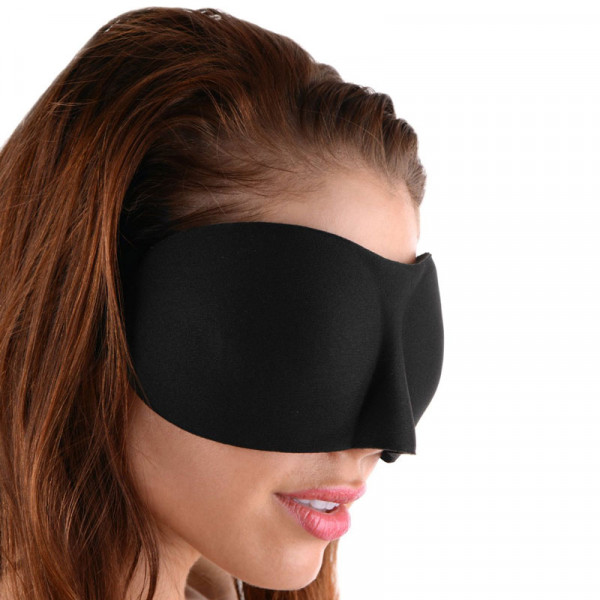 Frisky Deluxe Black Out Blindfold
