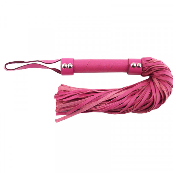 Rouge Garments Pink Leather Flogger