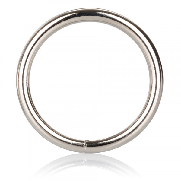 Large Silver Cock Ring