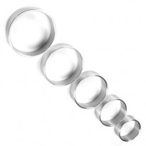 Thin Metal 1.35 inches Diameter Cock Ring