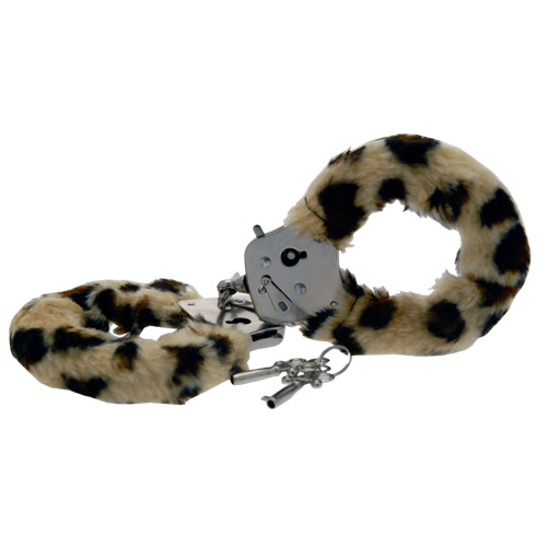 Toy Joy Furry Fun Cuffs Leopard Plush - For The Closet