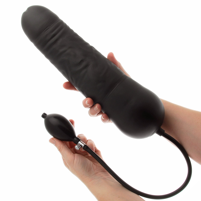 Leviathan Giant Inflatable Dildo with Internal Core - For The Closet