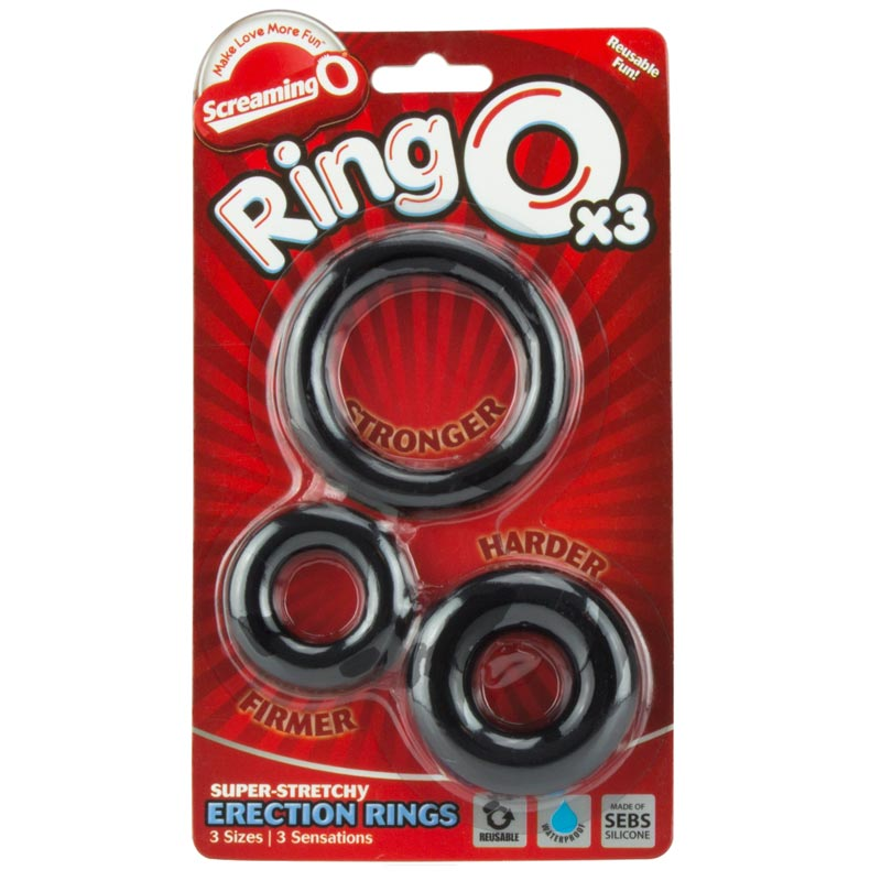 Screaming O Ring O x 3 Cockring - For The Closet